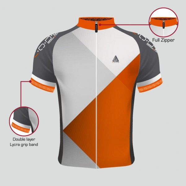 PELOTON JERSEY ORANGE MEN