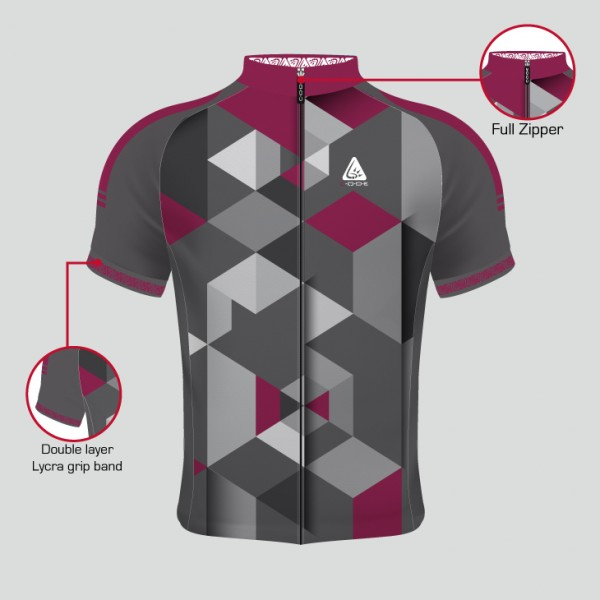 PELOTON JERSEY ABSTRACT MEN